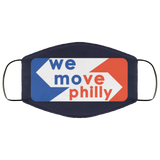 We Move Philly Face Mask