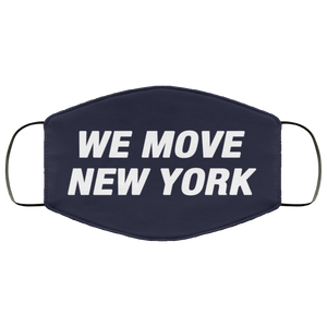 We Move New York Bold Face Mask