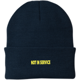 Not In Service Knit Cap