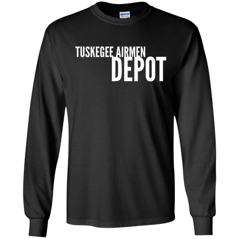 Image of Tuskegee Airmen Depot Long Sleeve T-Shirt