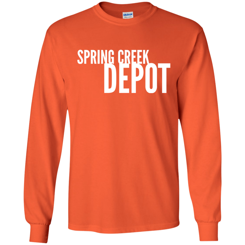 Spring Creek Depot Long Sleeve T-Shirt