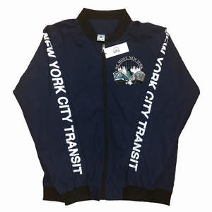 WMNY Train and Bus Bomber Jacket