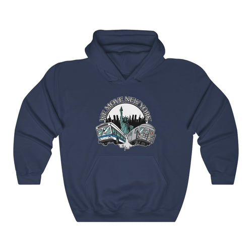 WMNY Train and Bus Pull Over Hoodie