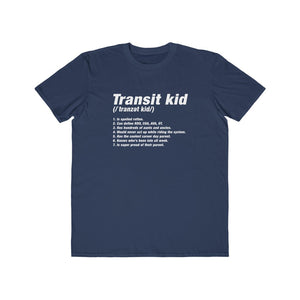 Transit Kid Tee (adult)