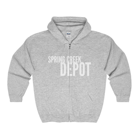 Image of Spring Creek Depot Full Zip Hoodie