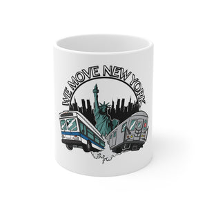 WMNY 11oz Coffee Mug (white)