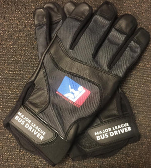 Custom printed gloves.