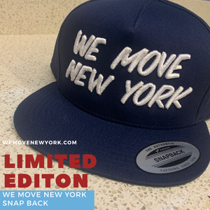 "Limited Edition ""WE MOVE NEW YORK"" Snap Back"""