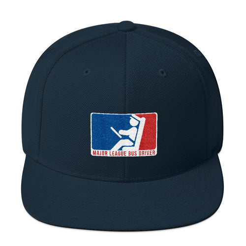 Major League Bus Driver Wool Blend Snapback