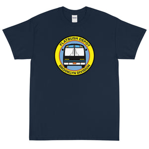 "Custom print ""Antonio Flatbush Depot"" Short Sleeve T-Shirt"