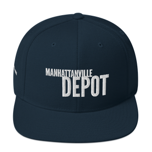 "Custom Print ""Super-Gee"" Manhattanville Snapback Hat"
