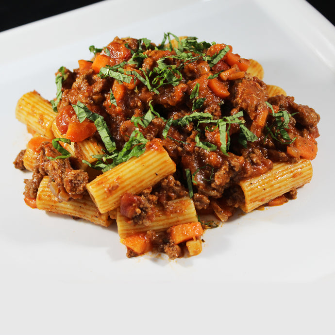 Whole grain Rigatoni with Bolognese