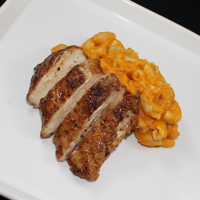 Sauteed Chicken with Butternut Mac
