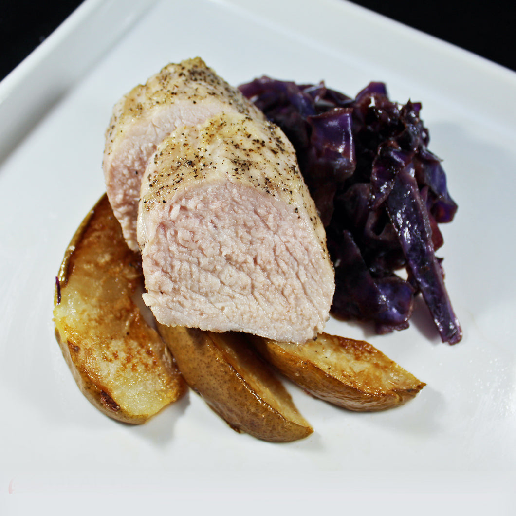 Pork Tenderloin with Roasted Pear