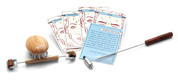 Facial Reflexology Starter Kit (3Pc) includes Bonus - Express Care Cards