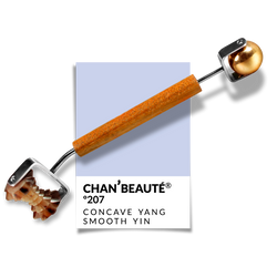 Nº207 -  Concave Yang Roller w/ Smooth Brass Sphere