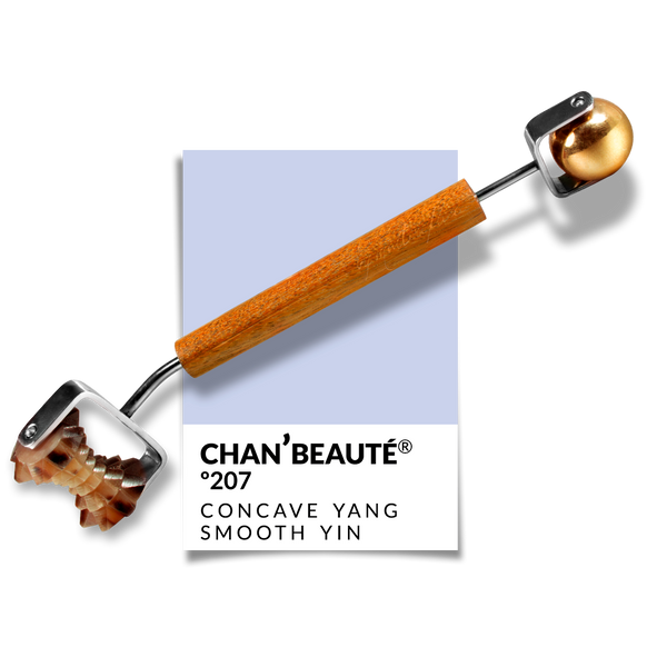 Nº207 | Concave Yang Roller w/ Smooth Brass Sphere