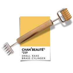 Nº219 | Small Rake w/ Toothed Brass Cylinder