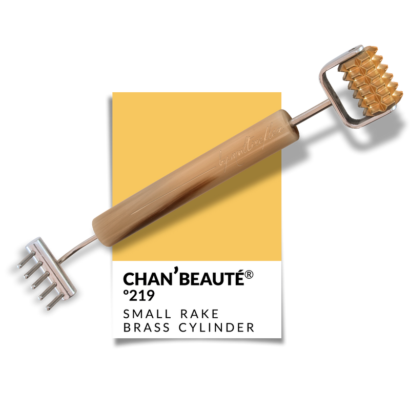 Nº219 - Small Rake w/ Toothed Brass Cylinder