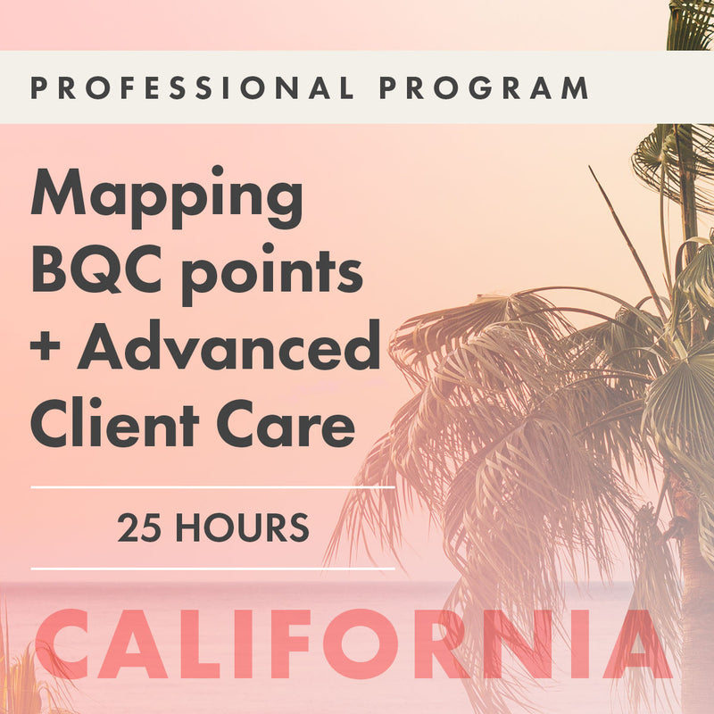 Module Two: Mapping BQC·Points + Advanced Client Care |  Palm Springs, CA