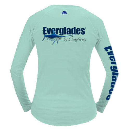Ladies Performance Long Sleeve - Swordfish