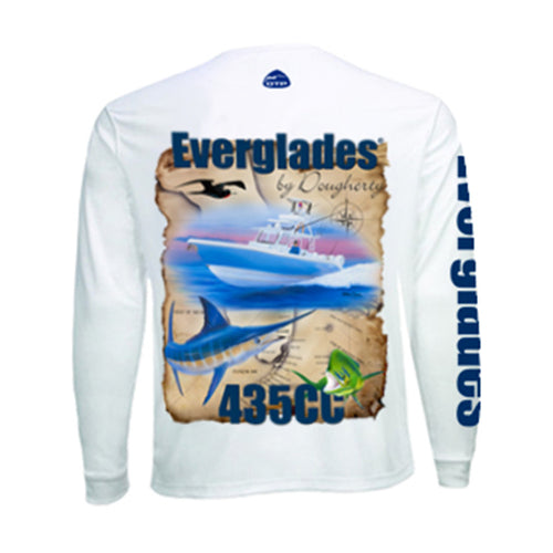 Youth Performance Long Sleeve - Offshore 435
