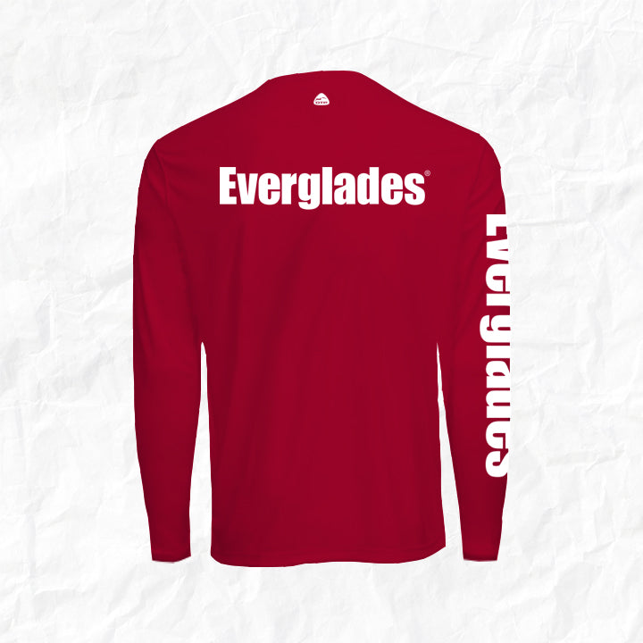 Men's Performance Long Sleeve - Signature Red