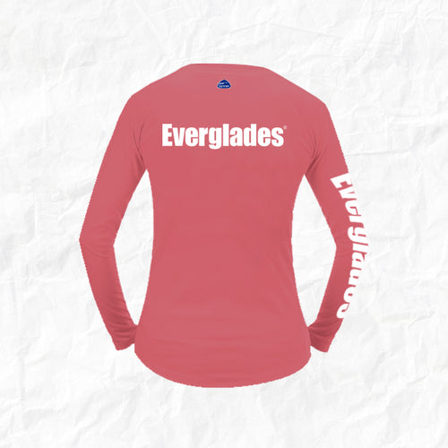 Women's Long Sleeve Performance Shirt - Signature Pink