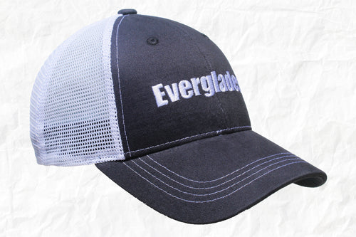 Everglades Boats Navy Trucker Hat