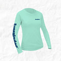 Women's Long Sleeve Performance Shirt Swordfish Design
