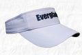 Everglades Boats White Visor