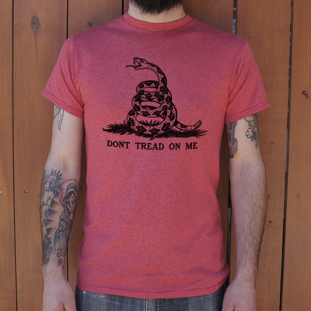 Mens Don't Tread On Me T-Shirt - Salty 9