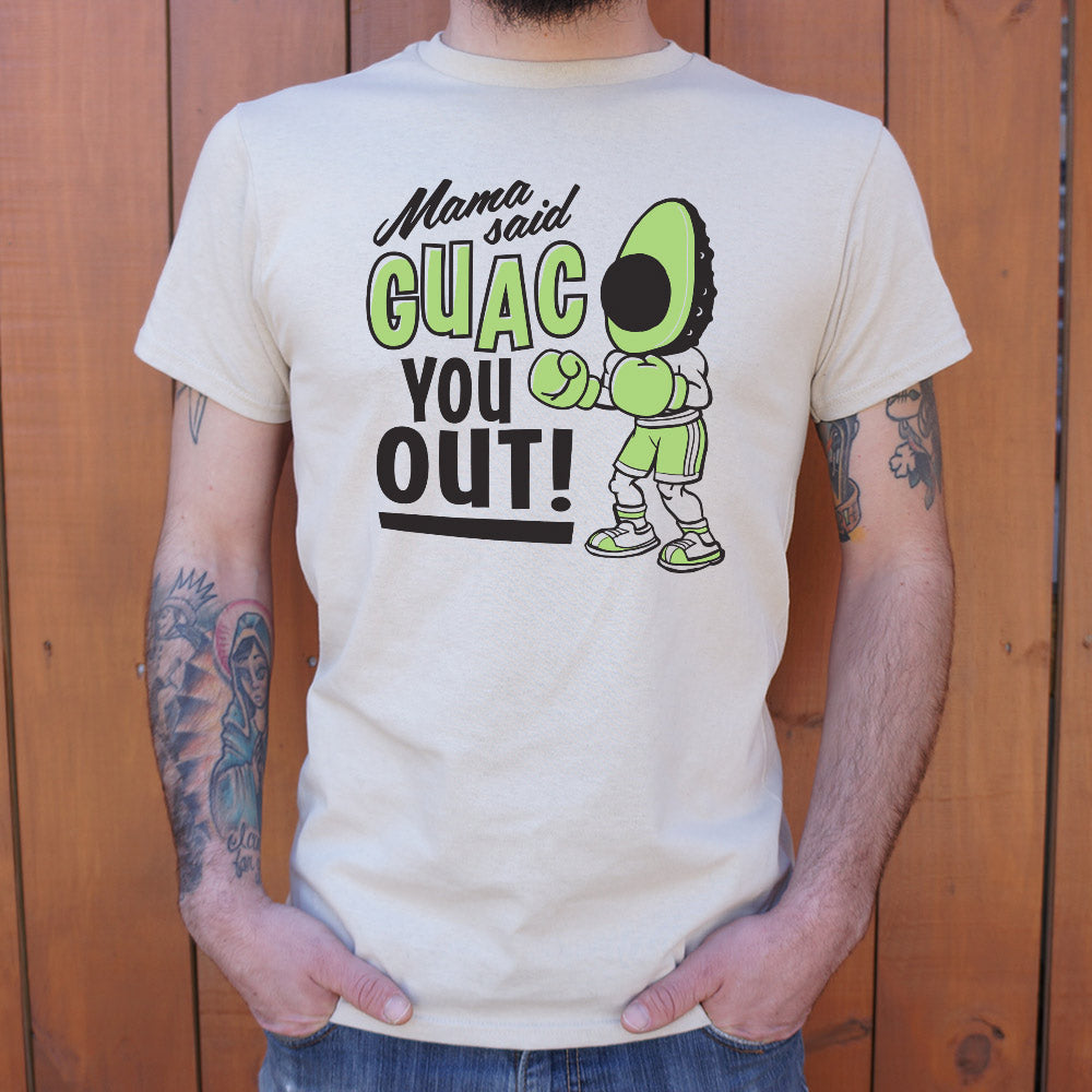 Mens Mama Said Guac You Out T-Shirt - Salty 9