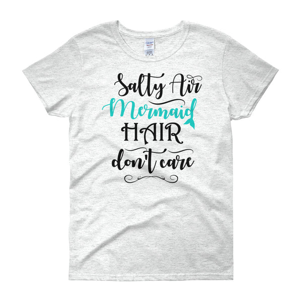 Salty Air Mermaid Hair - Women's short sleeve T-shirt - Salty 9
