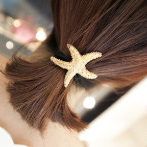 Fashionable Beach Style Ponytail Holder - Salty 9