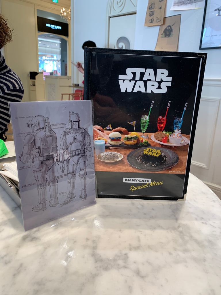 Eps 28: Star Wars Cafe Tokyo Review