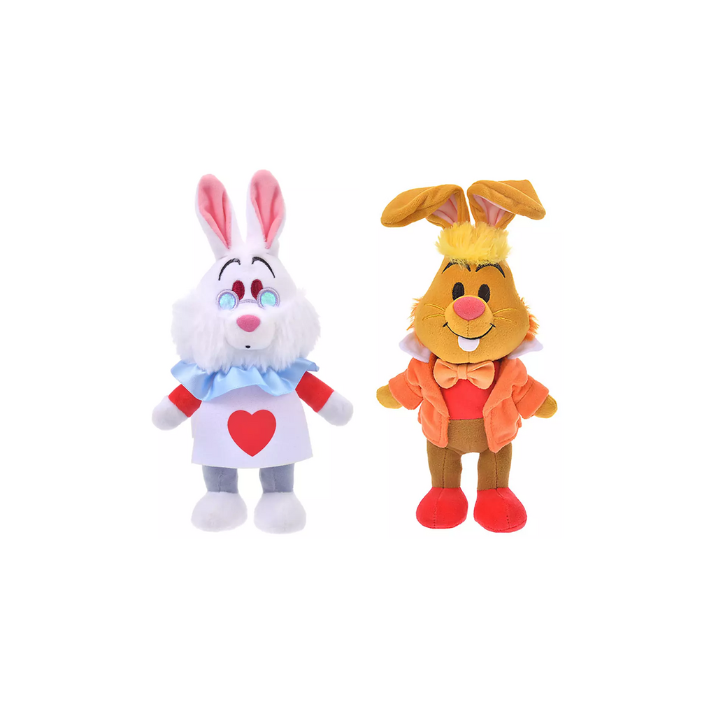 Disney Store Japan Alice in Wonderland nuiMO Posable Plushes