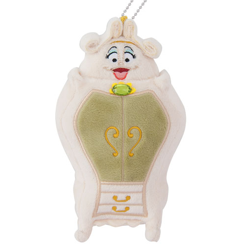 Tokyo Disney Resort New Land Beauty and the Beast Keychains