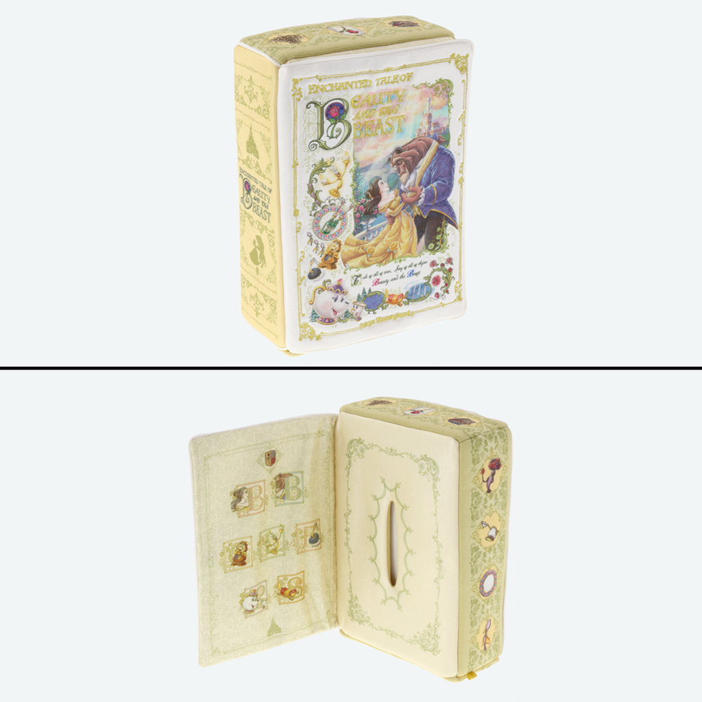 Tokyo Disney Resort New Land Beauty and the Beast Tissue Case