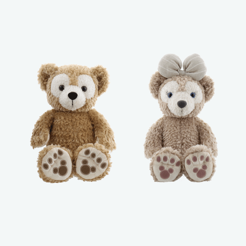 Tokyo DisneySea Duffy and Friends Plushes