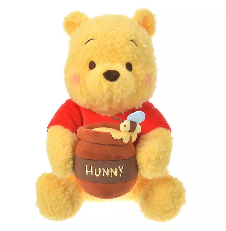 Disney Store Japan Pooh Hunny Pot Plush