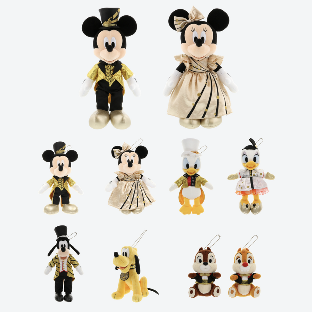 Tokyo Disney Resort Mickey's Magical Musical World Fancy Plushes