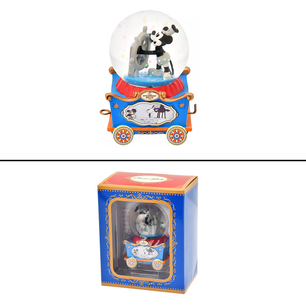 Disney Store Japan Mini Connecting Snow Globes