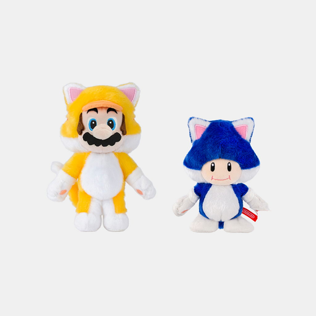 Nintendo Store Japan Mario 3D World Cat Keychains