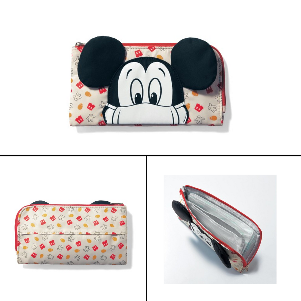 Disney Japan Mickey & Chip and Dale Face Mask Cases
