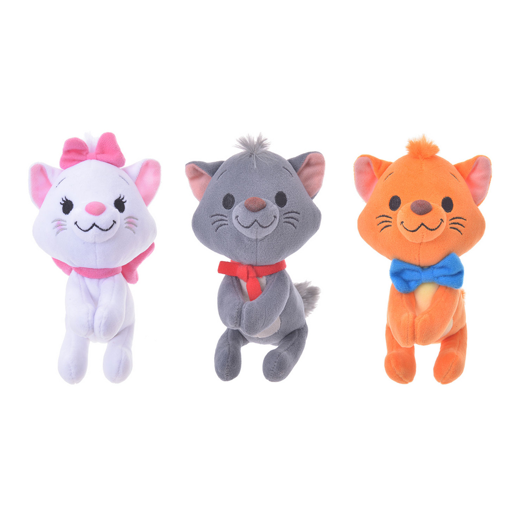 Disney Store Japan Aristocats nuiMO Posable Plushes