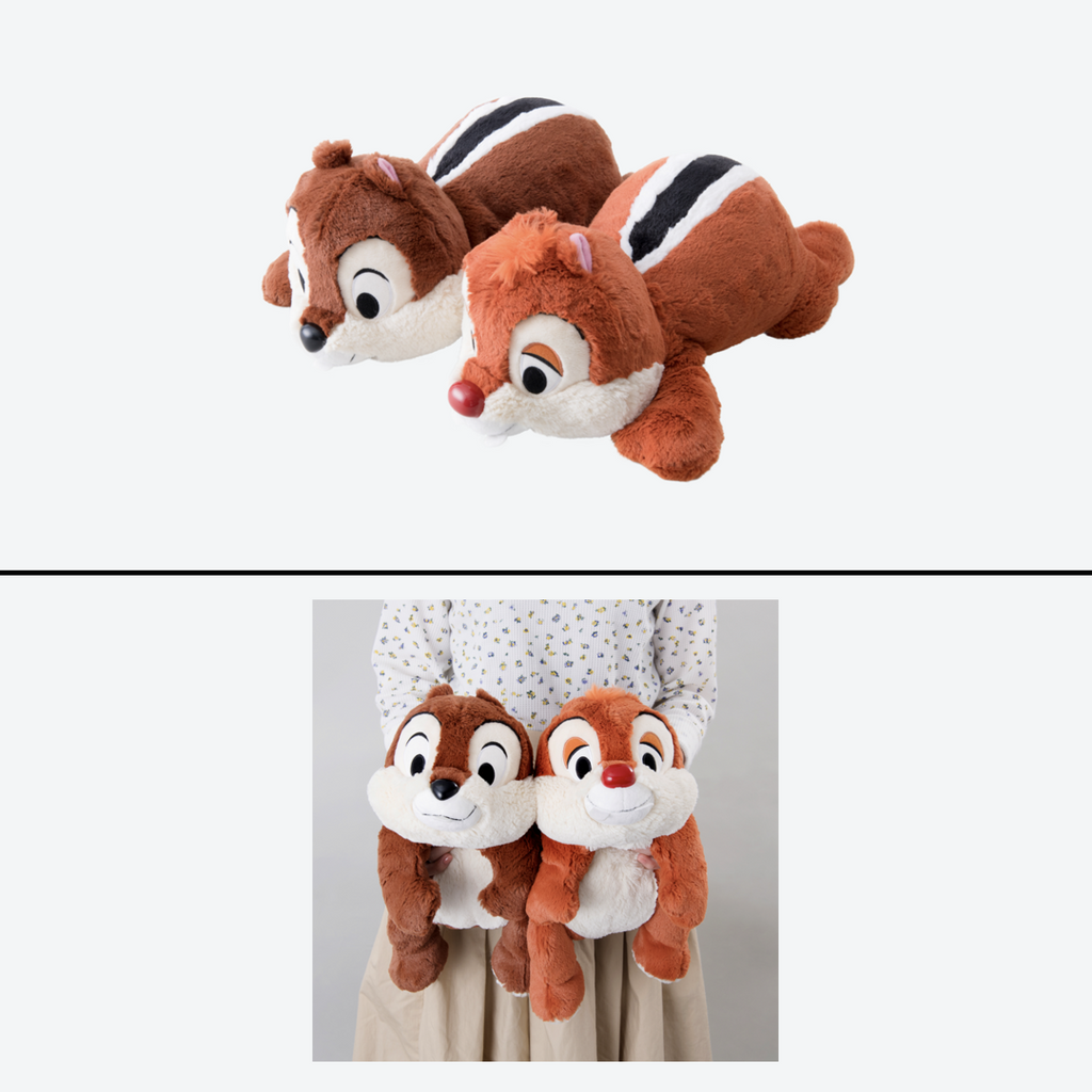 Tokyo Disney Resort Chip and Dale & Thumper and Miss Bunny Plush Pairs