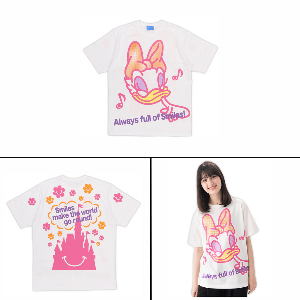 Tokyo Disney Resort Full of Smiles Shirts