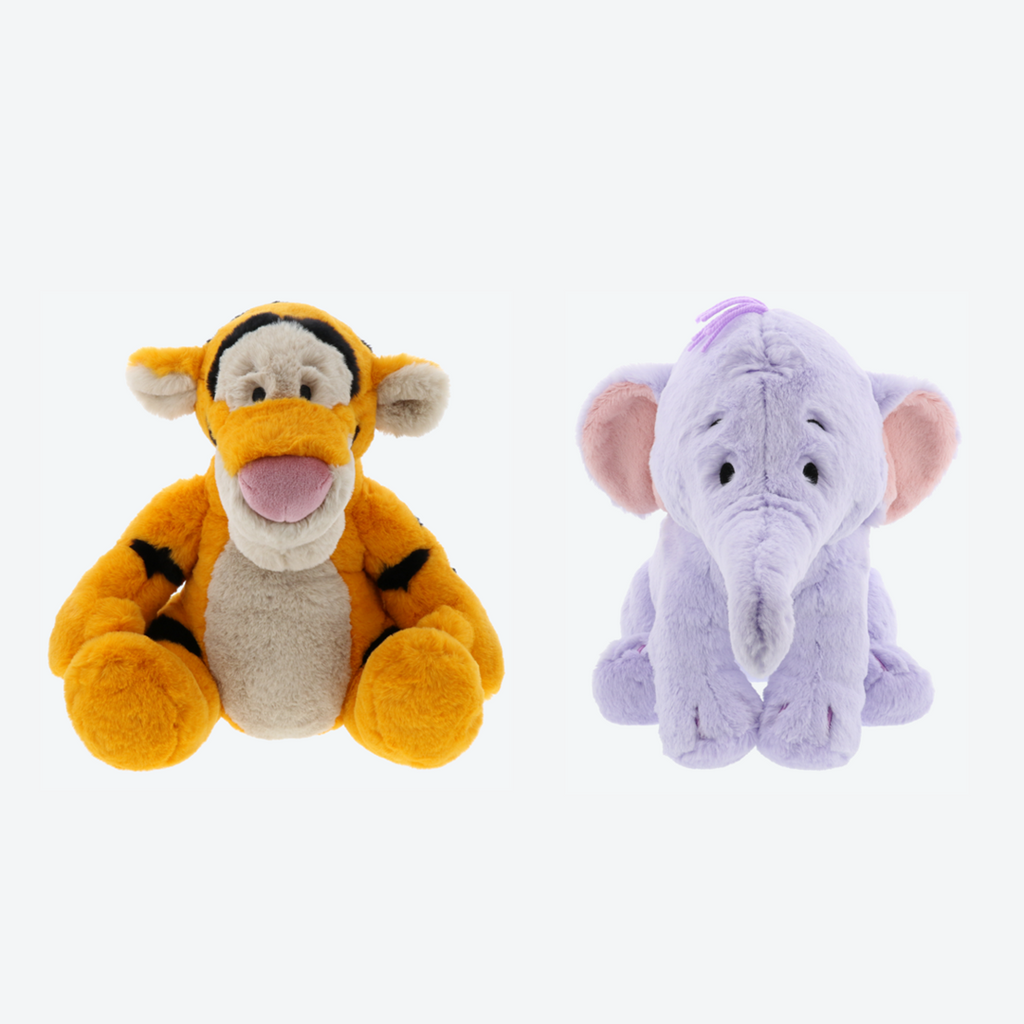 Tokyo Disney Resort Pooh & Friends Fluffy Plushes