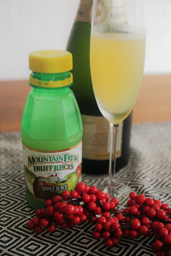 Apple Juice Mimosa